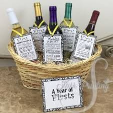 a basket of firsts wedding or bridal shower the basket all