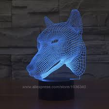 Led Lights For Home Decoration Free Shipping 3d Decor The Animal Cool Shape Led L