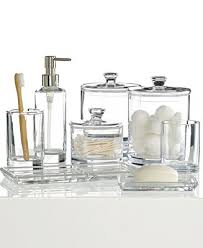 closeout hotel collection glass bath accessories collection