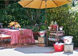 Baby Shower Outdoor Ideas - drink station ideas