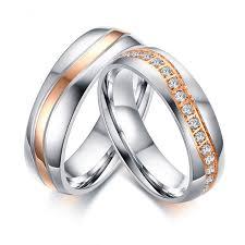 wedding rings luxury images Luxury cz stones wedding rings band for women men wave line jpg
