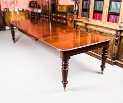 Antique Mahogany Dining Room Set by Antique William Iv Mahogany Extending Dining Table And 12 Chairs