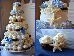 cupcake wedding cakes nautical live smile celebrate beach theme