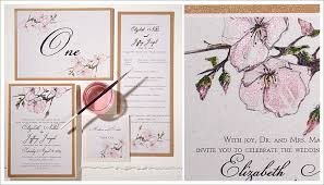 cherry blossom wedding invitations the pink cherry blossom wedding invitations on