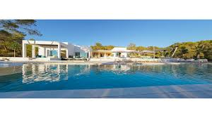 can chic luxury villa in cala tarida ibiza balearic islands