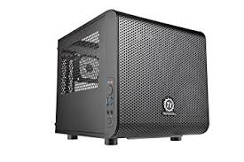 amazon black friday computer amazon com thermaltake core v1 black edition spcc mini itx cube