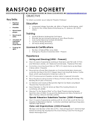 Faculty Resume Sample Professor Resume Resume Templates