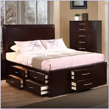 King Platform Bed With Drawers by Bed Frames White Twin Bed With Storage King Platform Bed With