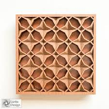 layered wood wall 6 x 6