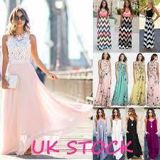 maxi dresses uk womens prom dresses ebay