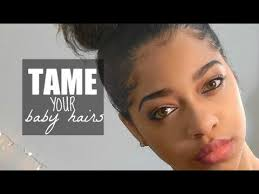 how to tame gray hair carefree bun tame those baby hairs youtube