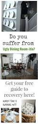 Cottage Dining Room Table Grey And White Cottage Dining Room How To Love Your Ugly Dining