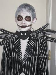 Jack Skeleton Costume Jack Skellington Halloween Costume For A Boy