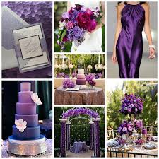 color palette idea shades of purple burgh brides