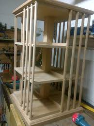 revolving bookcase finewoodworking