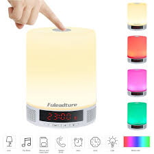 amazon com led bluetooth speaker fuleadture all in 1 portable