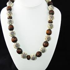 large wood bead necklace images Best large wooden bead necklace for sale in worcester jpg