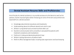 Resume Examples For Dental Assistants by Nice Dental Assistant Job Description Samplebusinessresume Com