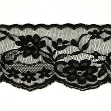 lace ribbon by the yard 2 3 4 chantilly lace trim black discount designer fabric
