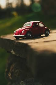 volkswagen beetle red close up photo of red volkswagen beetle scale model free image