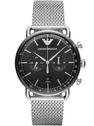 armani watches bracelet images Emporio armani mens chronograph bracelet watch ar11104 t h jpg