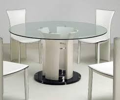 Round Glass Top Dining Table Set 60 Inch Round Dining Table Set Shelby Knox