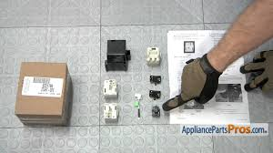 refrigerator compressor starting device kit part 8201786 how to