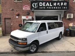 2014 chevrolet express g3500 lt white ash stk 169443 ideal auto