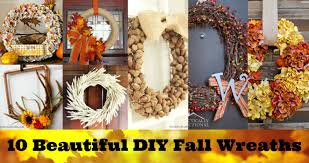 thanksgiving diy projects 10 beautiful diy fall wreaths for your home resin crafts