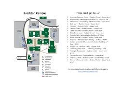 Boston College Campus Map by Massasoit Community College Brockton Campus