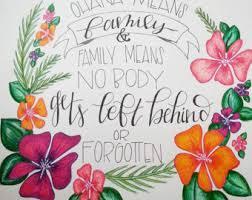 lilo stitch watercolor art print lilo stitch poster