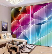 2017 curtains for living room colorful fashion decor home