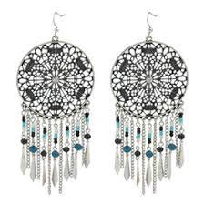 Big Chandelier Earrings Big Tassel Earrings Online Big Tassel Earrings For Sale