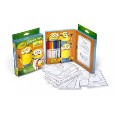 crayola mini coloring pages minions walmart com