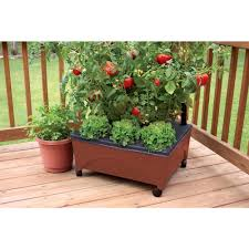 patio garden kit city pickers elevated patio garden kit raised