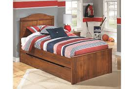 barchan twin panel bed with trundle ashley furniture homestore