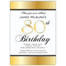 invitation template for birthday with dinner wording for 80th birthday invitation 80th birthday invitations