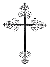 amazon com young u0027s metal cross wall art 24 inch home u0026 kitchen