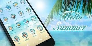 hello go launcher ex theme apk hello summer go launcher theme apk free personalization
