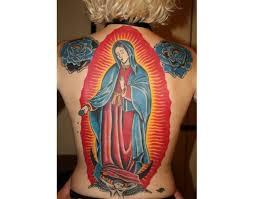 imagenes tatuajes de la virgen maria ellos llevaron su amor a la virgen de guadalupe a otro nivel el