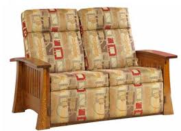 craftsman mission 88 wallhugger loveseat recliner ohio hardwood