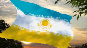 Kazakhstan Flag A New Proposed Flag For Kazakhstan Hd Youtube