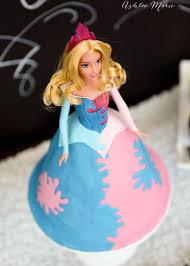 sleeping beauty princess cake tutorial ashlee marie
