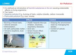 learnhive icse grade 10 biology pollution lessons exercises