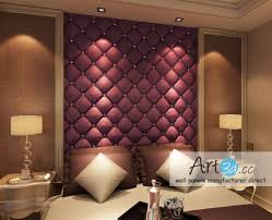 interior leather wall paneling luxurious modern interior design