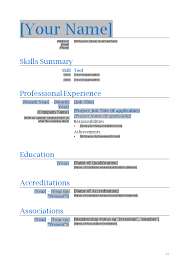 Resume In One Page Sample 10 Best Images Of Pages Resume Templates Professional Resume