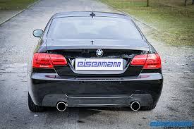 bmw 335ix eisenmann axle back exhaust for 07012 bmw 335i xi