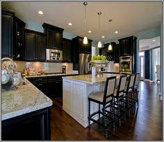 Wood Floor With Dark Cabinets Dark Woods And Dark Kitchen Cabinets - Dark kitchen cabinets
