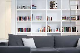 White Bookcase Ideas Wall Modern White Bookcase Doherty House Modern White Bookcase