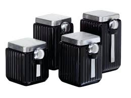 walmart kitchen canisters black kitchen canisters storage bear canister set walmart